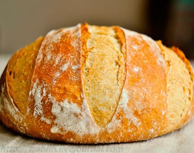 Домашний хлеб без замеса: проще быть не может! Пышный, с хрустящей корочкой…