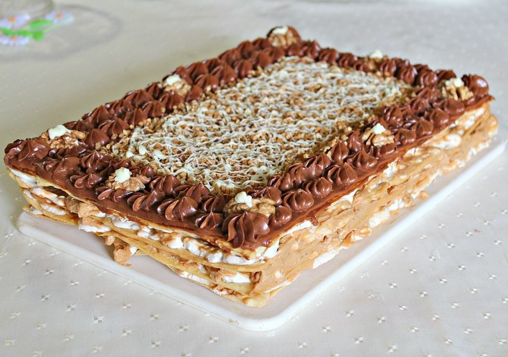 Торт «Шоколадная Маркиза» - вкуснейшее украшение праздничного стола!