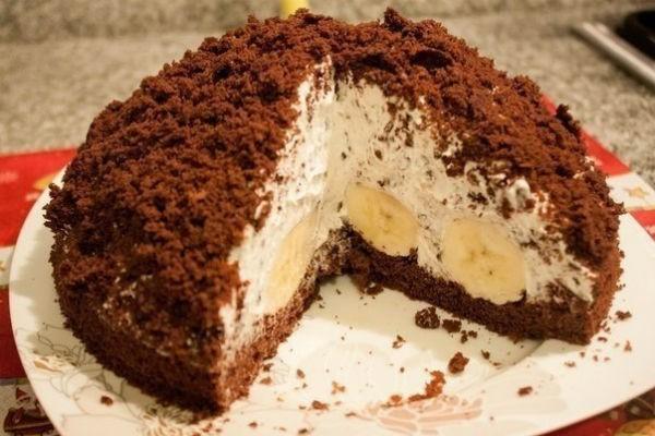 «Норка Крота»: очень простой и интересный тортик