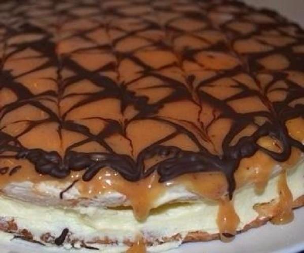 Польский торт «Коровка». Попробуйте раз и будете готовить его постоянно!