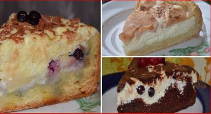 Собрала для вас 10 лучших рецептов пирогов с творогом. Только проверенные!
