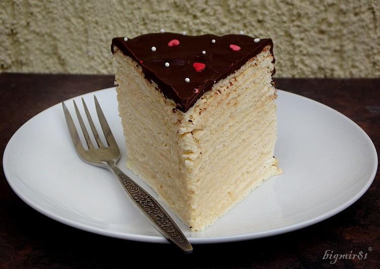 Восточный торт «Микадо» - действительно райский десерт!