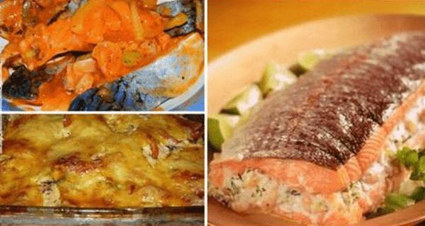 Сборник рыбных рецептов из моей кулинарной книги. Отобрала 25 лучших!