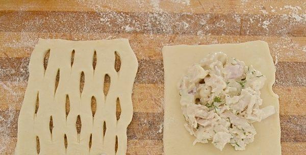 Вкуснейшие домашние слойки с мясом - это очень просто и нереально вкусно
