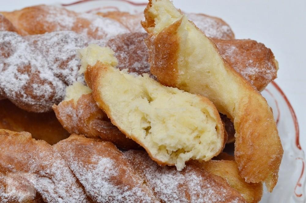 Сказочно вкусные плетеные пончики: оригинально и совсем не сложно