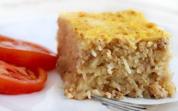 Блюдо, как в детстве — Вермишелевая запеканка с мясом
