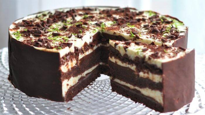 Очень нежный и вкусный торт «Шоко-лайм» с обалденным сочетанием ингредиентов!