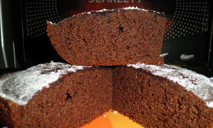 Необычный вкусный торт — шоколадный манник. Потрясающий рецепт!