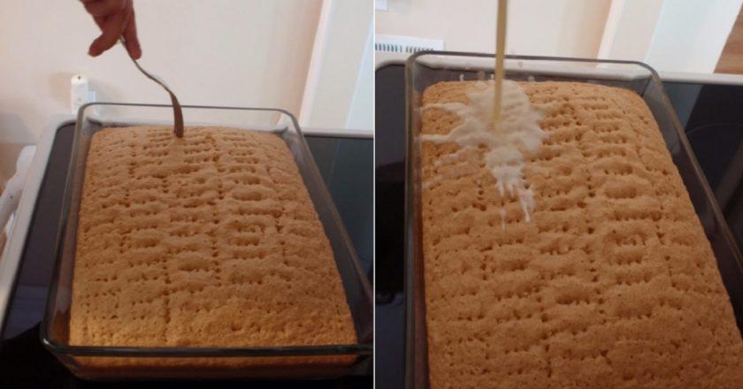 Торт «Три молока» - необычайно нежный десертик