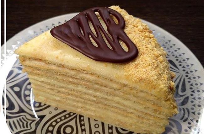 Торт на сковороде с нежным заварным кремом «Творожный пломбир»