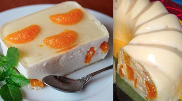 Творожное бланманже: вкуснейший десерт стройняшек! Нежная структура, яркий вкус и аромат!