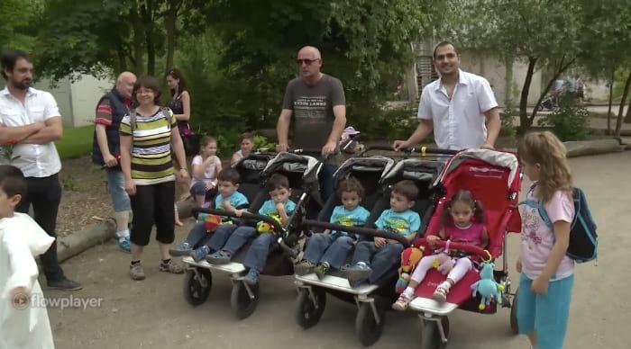 Жительница Чехии выносила пятерняшек
