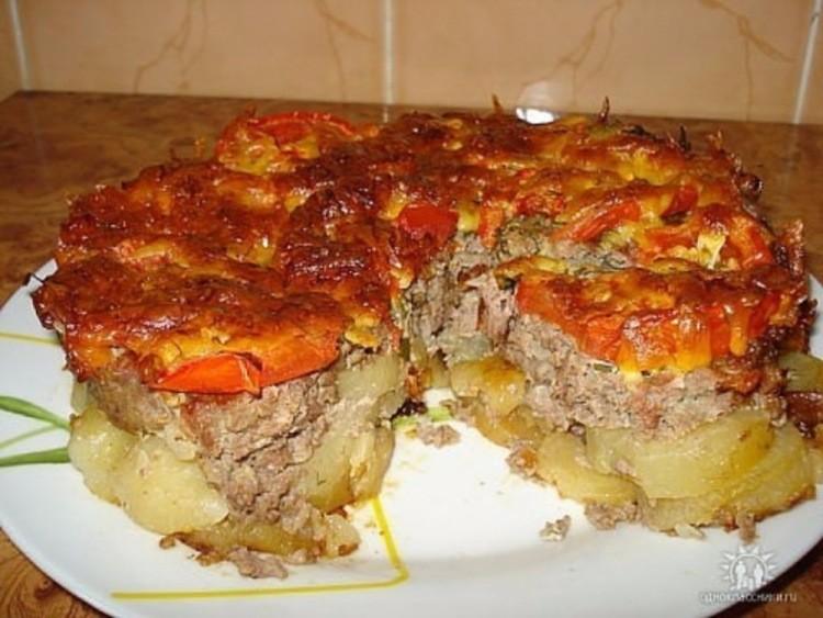 Картофель под шубой. Необычный, оригинальный и очень вкусный рецептик!