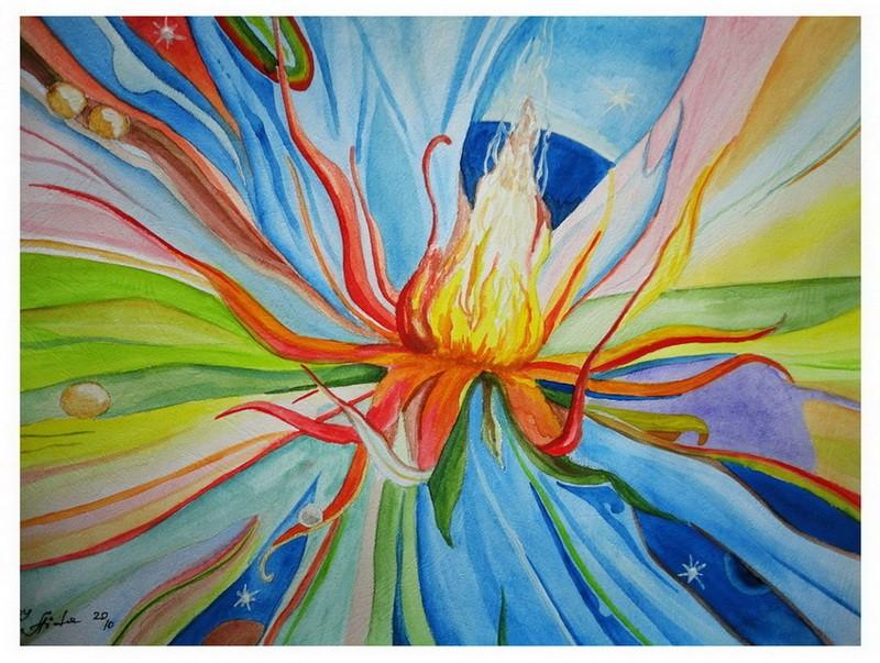 «Цветок счастья» загадываешь желание и, говорят, оно сбудется через 2-3 дня