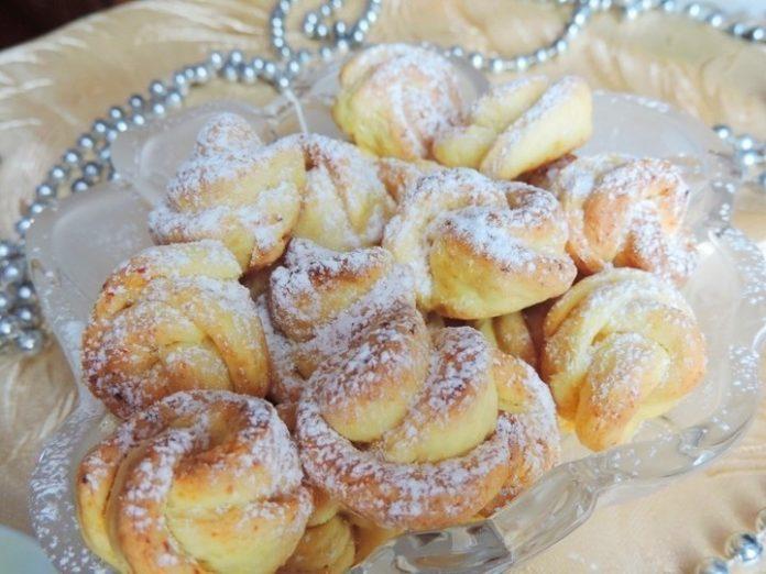 Вкусное и очень красивое творожное печенье «Чайная роза». Супер рецепт!