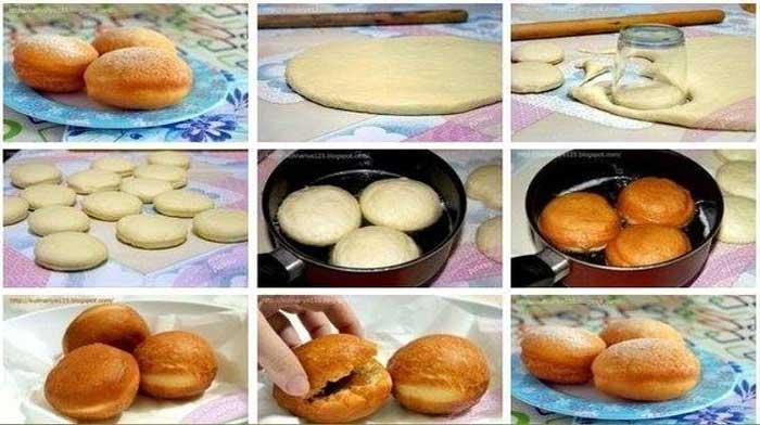 Самые вкусные и мягкие дрожжевые пончики. Вам понравятся!