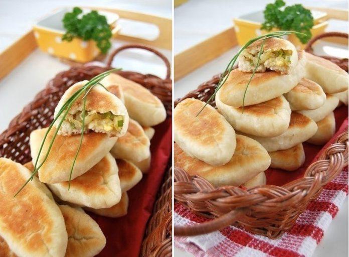 Постные пирожки с капустой на сковороде — просто объедение!