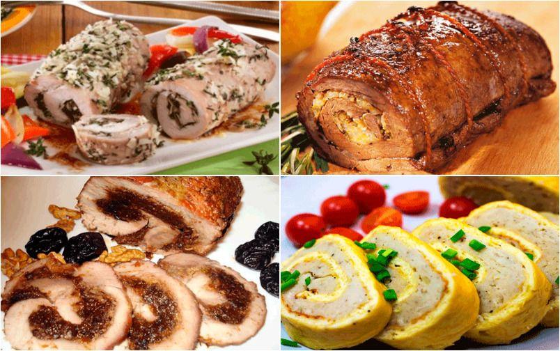 5 шикарных мясных рулетов — вкуснейшая закусочка для праздничного стола!
