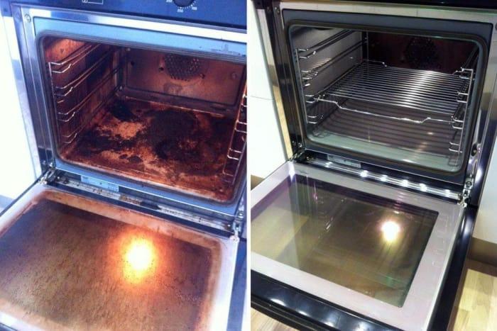 Как очистить духовку до безупречного блеска за полчаса без усилий