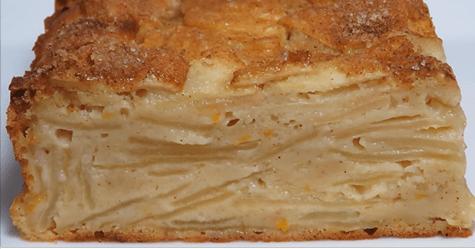 Самый классный яблочный пирог: очень много яблок и совсем мало теста