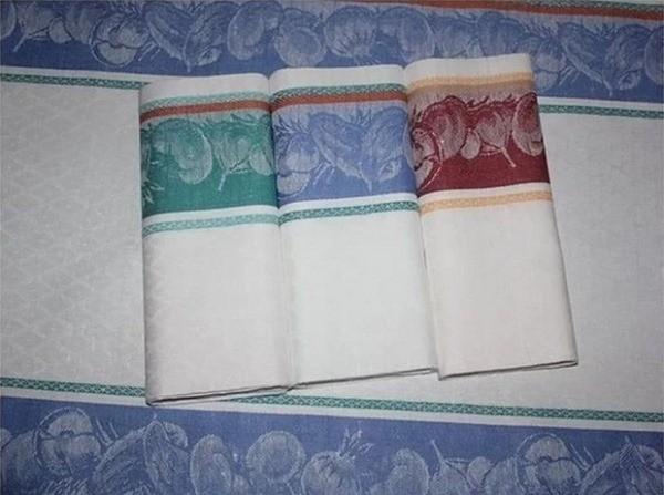 Как отстирать кухонные полотенца с помощью микроволновки до состояния новых