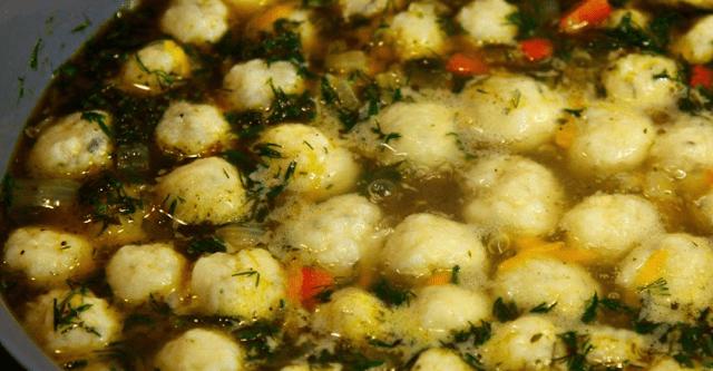 Потрясный суп с сырными шариками. Все гости будут в восторге!