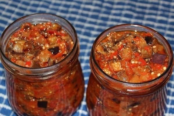 Баклажаны по-грузински на зиму - умопомрачительно вкусно!