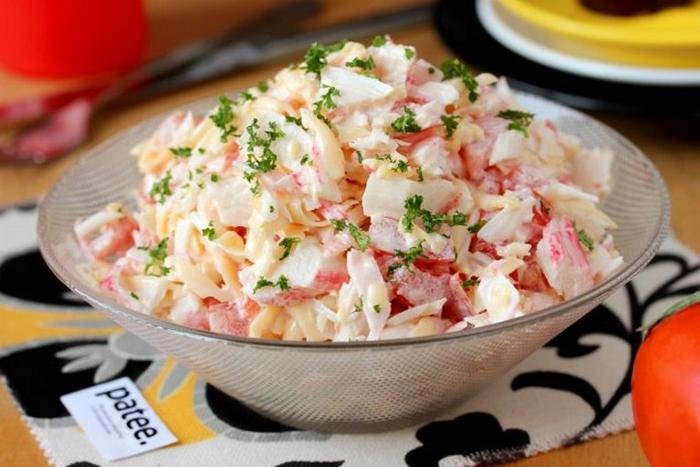 Топ-10 вкуснейших салатов быстрого приготовления. 20 минут и готово!