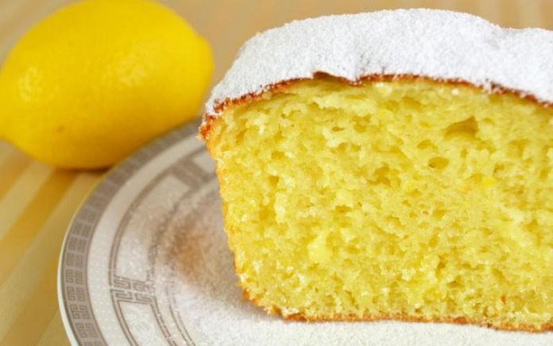 Кекс с нежным ароматом лимона, который действительно тает во рту