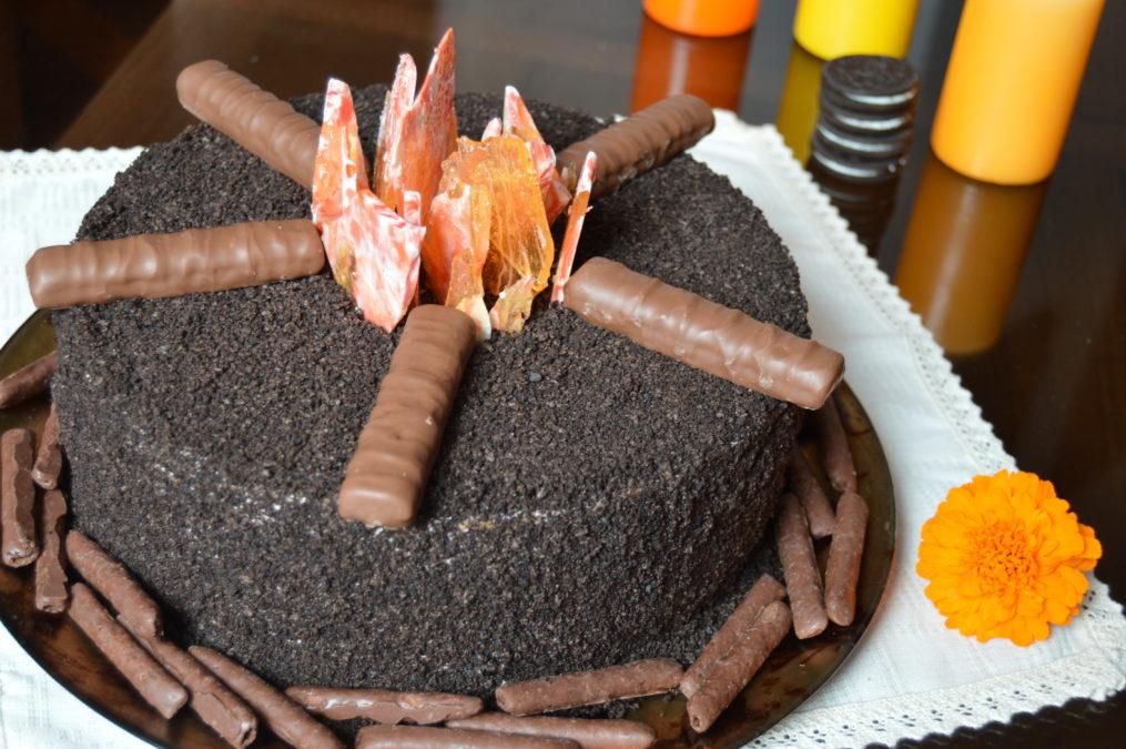 """Простой рецепт вкуснейшего торта """"Костер"""" — у вас он точно получится!"""