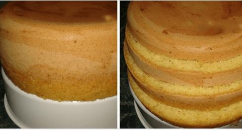 Простейший рецепт пышного универсального бисквита для идеального торта!