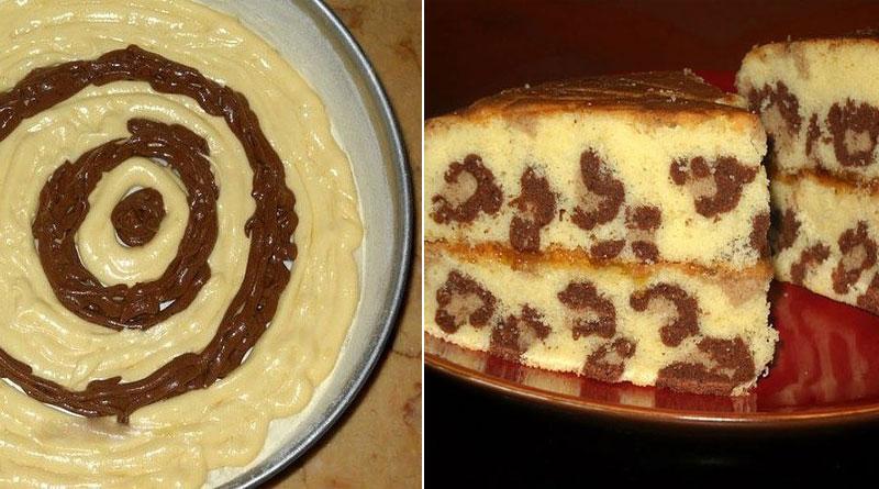 Вкусный и красивый кекс «Леопард». От него будут все в восторге!