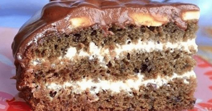 Быстрый влажный торт «Нежное облако» - наслаждение вкусом!