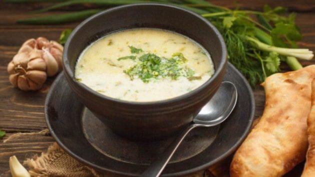 Рецепт приготовления грузинского куриного супа чихиртма. Очень люблю этот рецептик!
