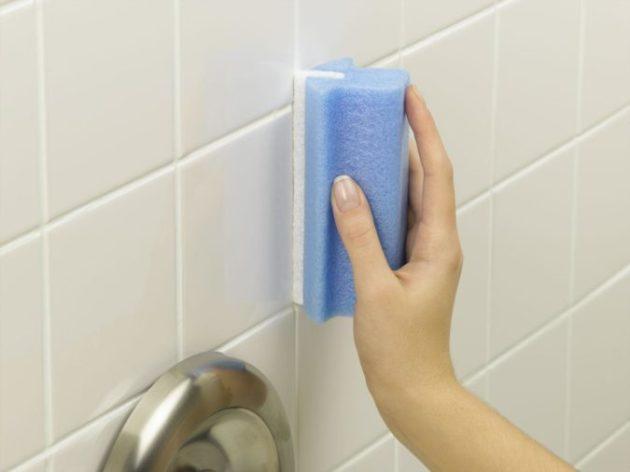 Как сохранить кафель в ванной в идеально чистом состоянии? Смотрите!