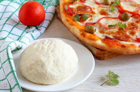 Шикарное тонкое тесто для пиццы как в пиццерии: оказывается это очень просто!