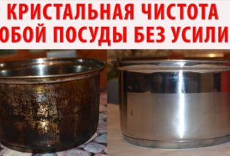 Белый кафель, плита без грязи и кастрюли без копоти и многое другое, достаточно всего 2 обычных ингредиента…