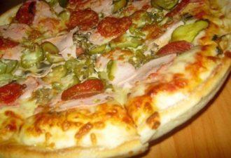Шикарное тонкое тесто для пиццы как в пиццерии: всегда готовлю двойную порцию