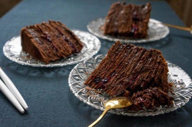 Шоколадный Наполеон невероятно вкусный вариант известного десерта!