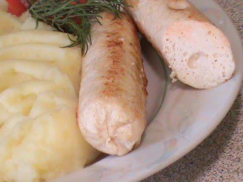 Как приготовить вкуснейшие куриные сосиски в домашних условиях