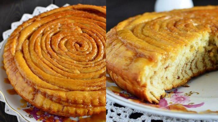 Пирог «Шотландская спираль»