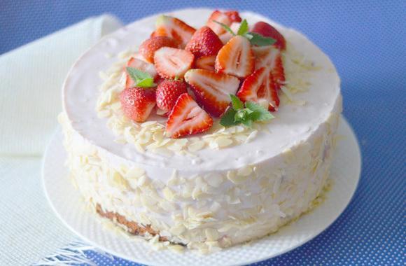 Йогуртовый тортик - лёгкий и полезный десертик