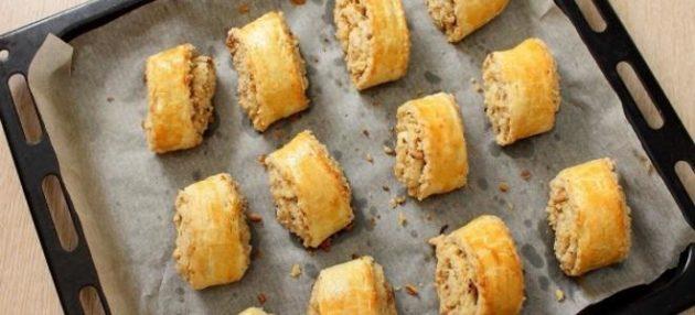 Песочное грузинское печенье «Када» с сахарной начинкой, которое делается быстро и легко