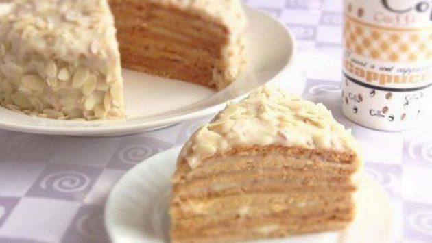 Торт «Парижский коктейль» - невероятно нежное лакомство!