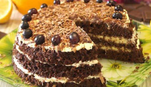 Самый быстрый вкуснейший торт из моей кулинарной книги: за 20 минут вместе с выпечкой