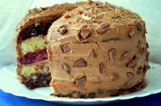 Многослойный торт «Мишель». Невероятное сочетание вкусов очарует вас с первого кусочка!