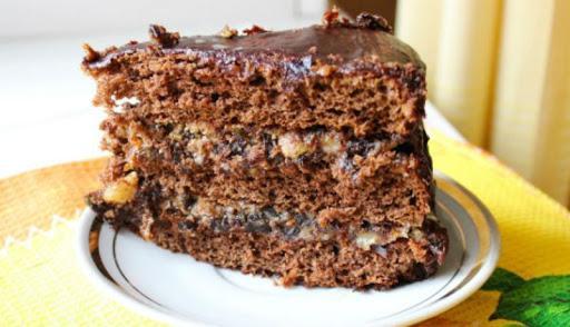 Домашний рецепт обалденного торта «Чернослив в шоколаде»
