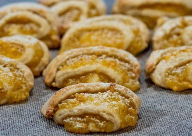 Печенье с апельсиновой начинкой — рецепт, покоряющий с первого кусочка