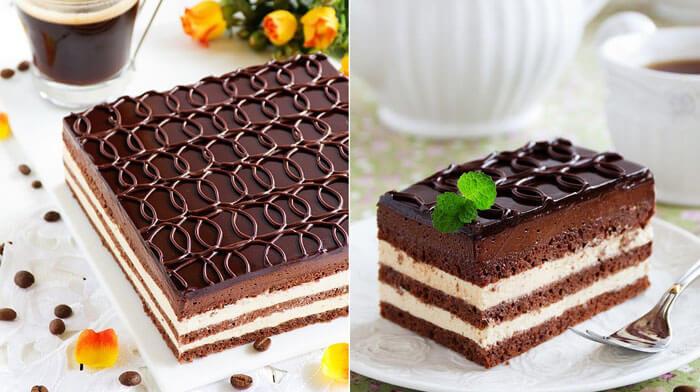 Торт «Опера» — нежное кофейно-шоколадное чудо