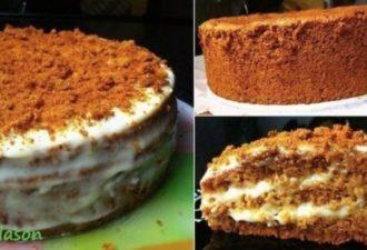 Торт «Медовый» — торт, который я готовлю редко, но так сильно люблю